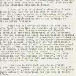 Letter : 1947 July 29