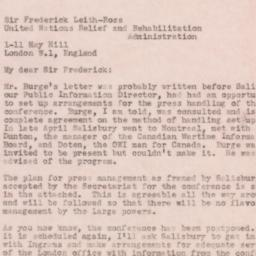 Letter : 1944 May 19