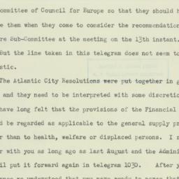 Letter : 1945 February 3