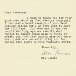 Letter : 1947 October 24