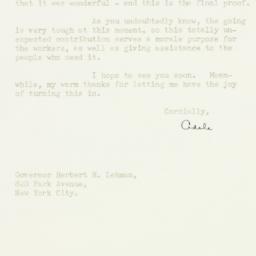 Letter : 1947 April 21