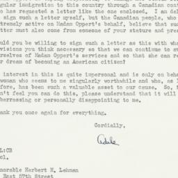 Letter : 1947 July 8