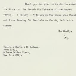 Letter : 1948 January 23
