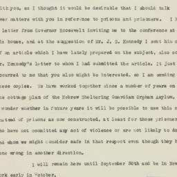 Manuscript: 1929 September 13