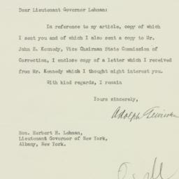 Letter: 1929 October 28