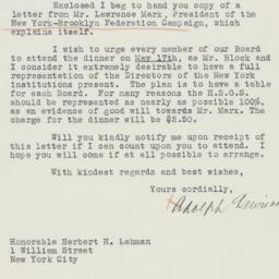 Letter : 1937 May 10