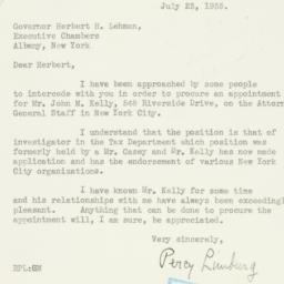 Letter : 1935 July 23