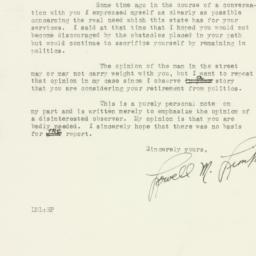Letter : 1930 May 9