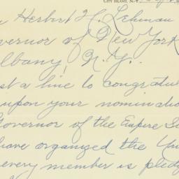 Letter: 1936 October 2