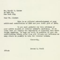 Letter : 1949 November 5