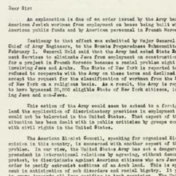 Letter : 1952 February 12