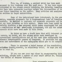 Letter : 1954 April 27
