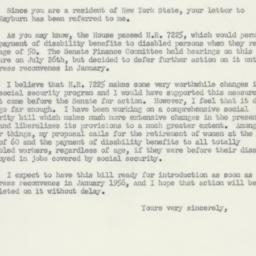Letter : 1955 October 28