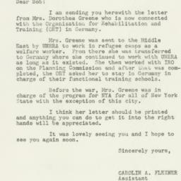 Letter : 1950 January 20