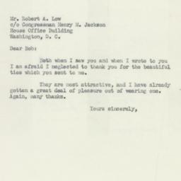 Letter : 1951 January 5