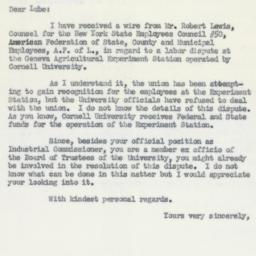 Letter: 1955 April 15