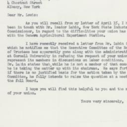 Letter : 1955 May 24