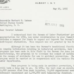 Letter : 1955 May 25