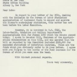 Letter : 1955 June 6