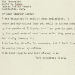 Letter : 1944 November 9