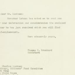 Letter: 1947 October 8