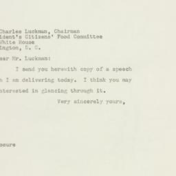 Letter: 1947 October 11