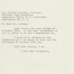 Letter: 1947 November 28