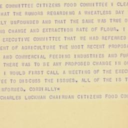 Telegram : 1947 October 23