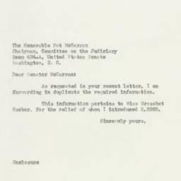 Letter: 1950 April 13