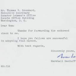 Letter : 1950 January 17