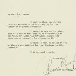 Letter : 1929 July 16
