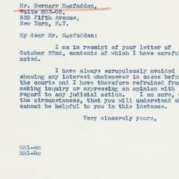 Letter : 1942 November 7