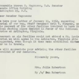 Letter : 1952 January 24