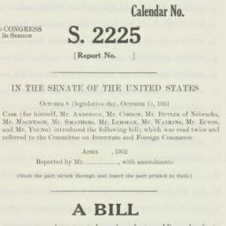 Letter : 1952 April 18