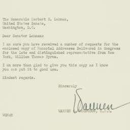 Letter: 1952 October 23
