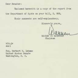 Letter : 1955 April 14