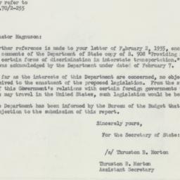 Letter: 1955 April 13