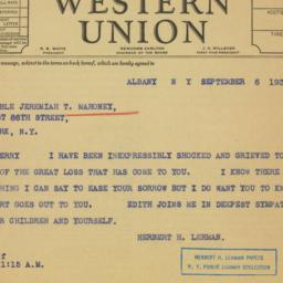 Letter : 1939 September 6