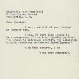 Letter : 1955 January 11