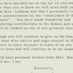 Letter: 1956 August 24