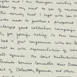 Telegram : 1946 February 18