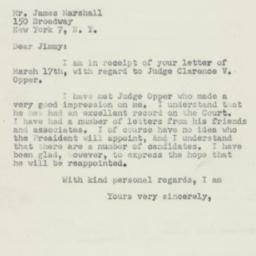 Letter: 1950 March 21