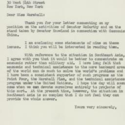 Letter : 1954 August 6