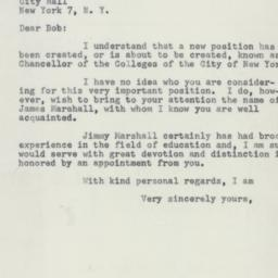 Letter : 1955 May 12