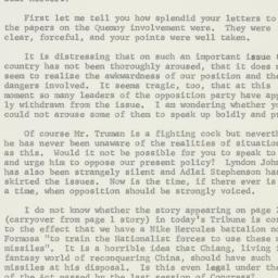 Letter : 1958 September 25