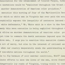 Press Release: 1951 February 2
