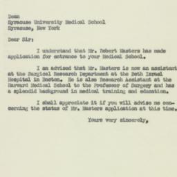 Letter : 1951 April 19