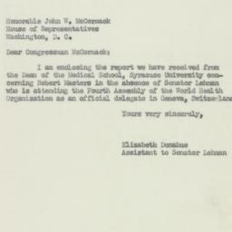 Letter : 1951 May 4