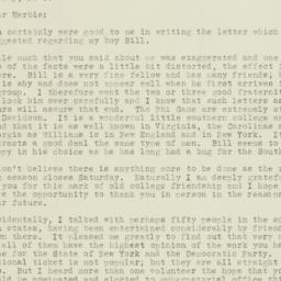 Letter : 1932 September 13