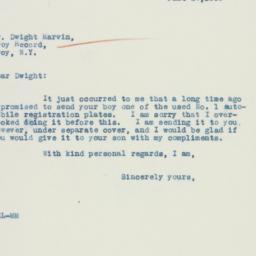 Letter : 1935 June 20